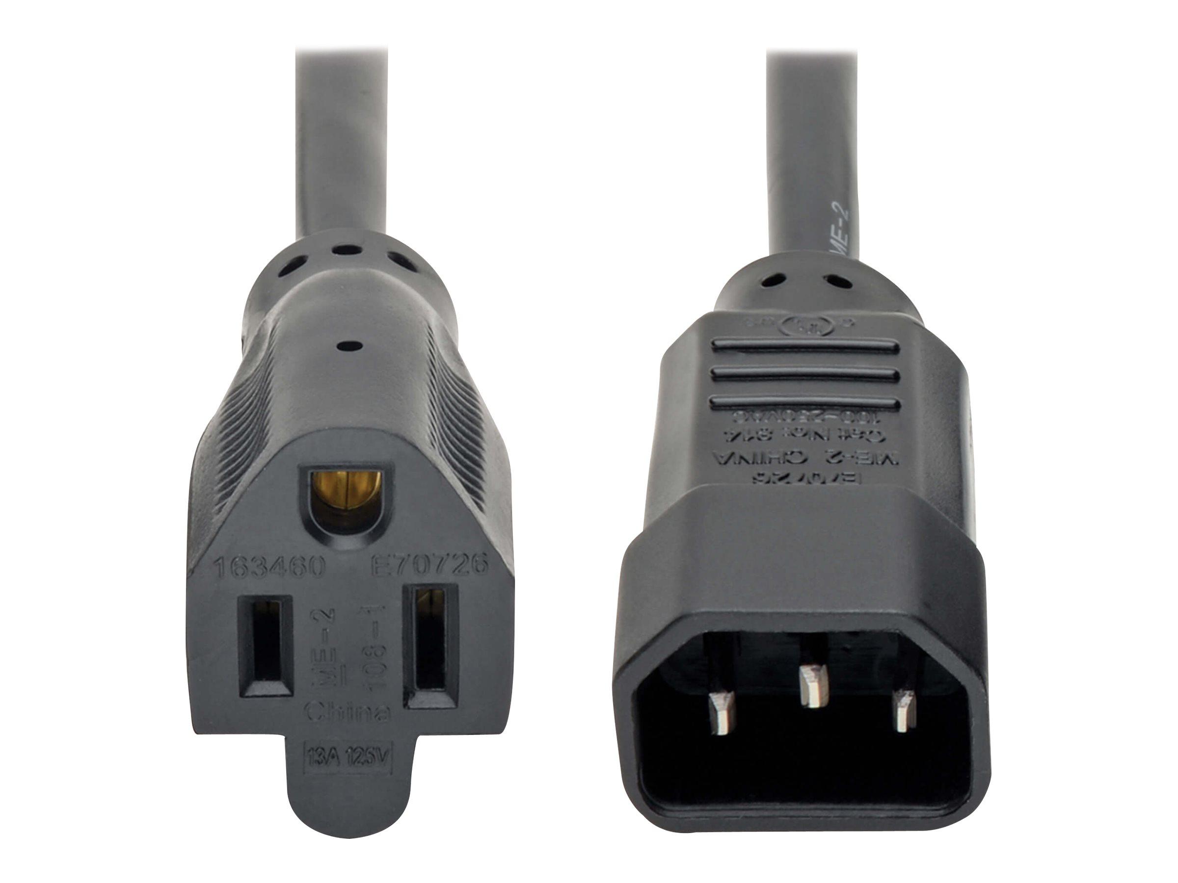 Tripp Lite Standard Computer Power Cord 12A 16AWG ...