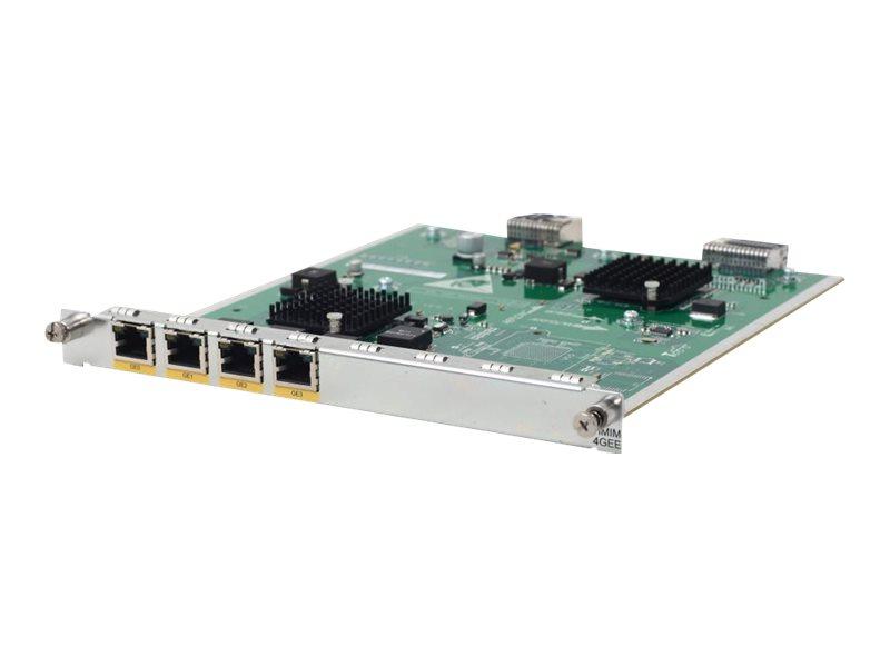 HPE - expansion module - HMIM - 1000Base-T x 4