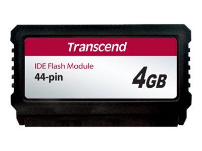 Transcend PATA Flash Module Vertical - solid state drive - 4 GB - IDE/ATA