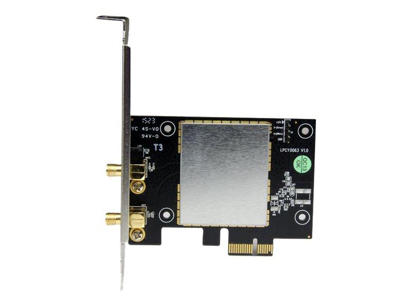 StarTech.com AC600 Wireless-AC Network Adapter - 802.11ac, PCI Express - Dual Band 2.4GHz / 5GHz PCIe Wireless Network Card (PEX433WAC11) - network adapter - PCIe