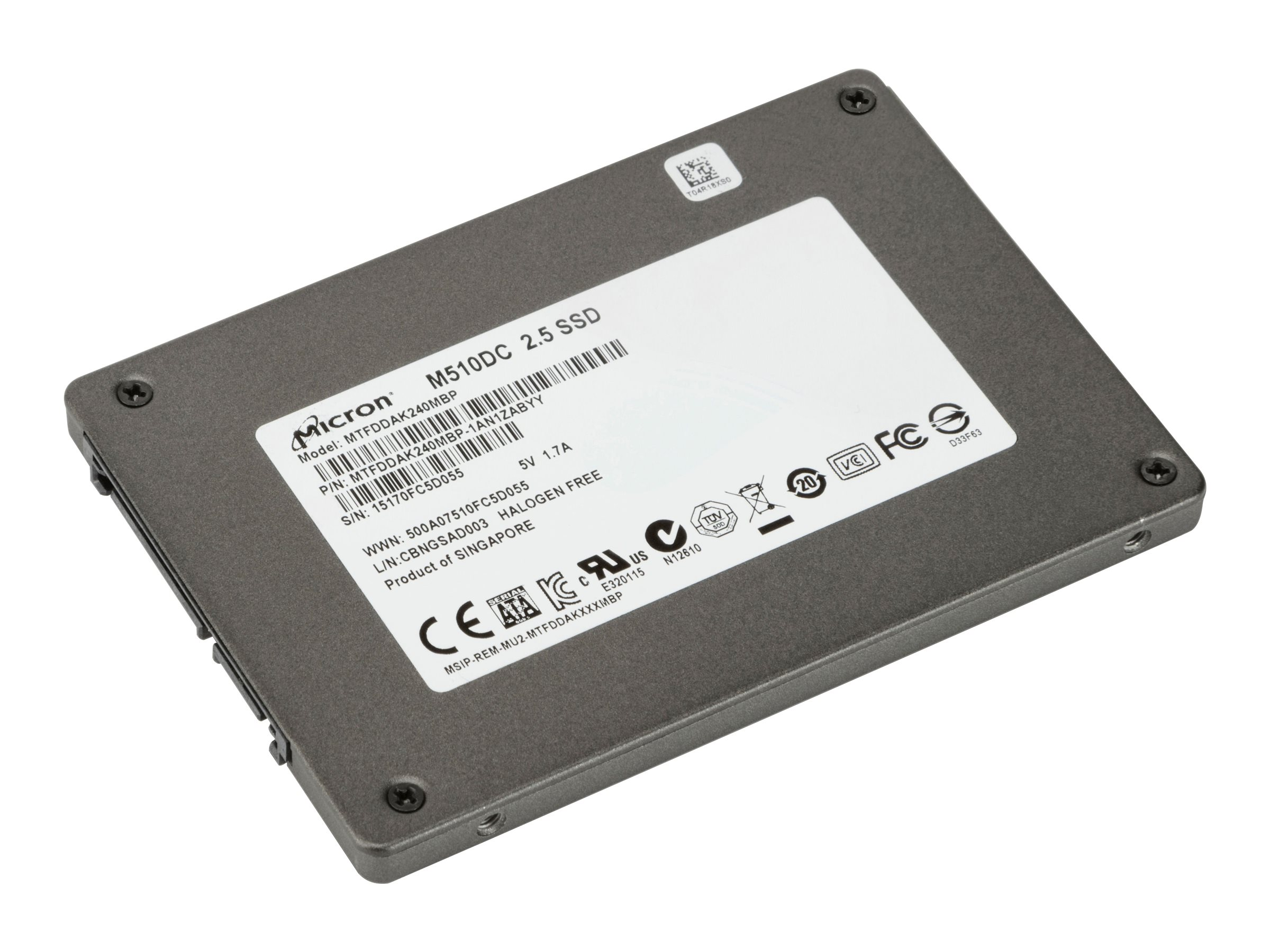 HP Enterprise - solid state drive - 240 GB - SATA 6Gb/s