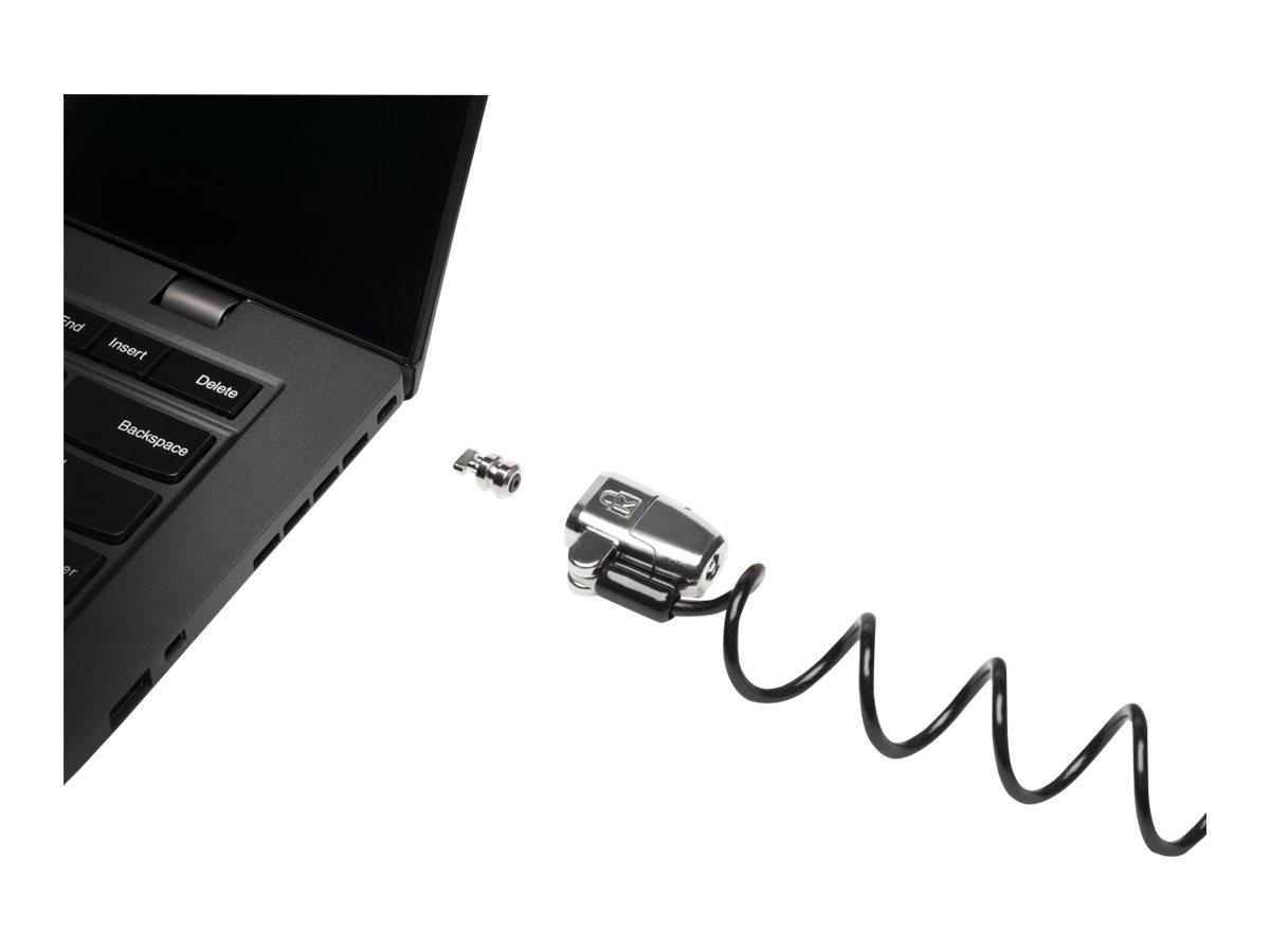 Kensington ClickSafe 2.0 Portable Keyed Laptop Lock security cable lock
