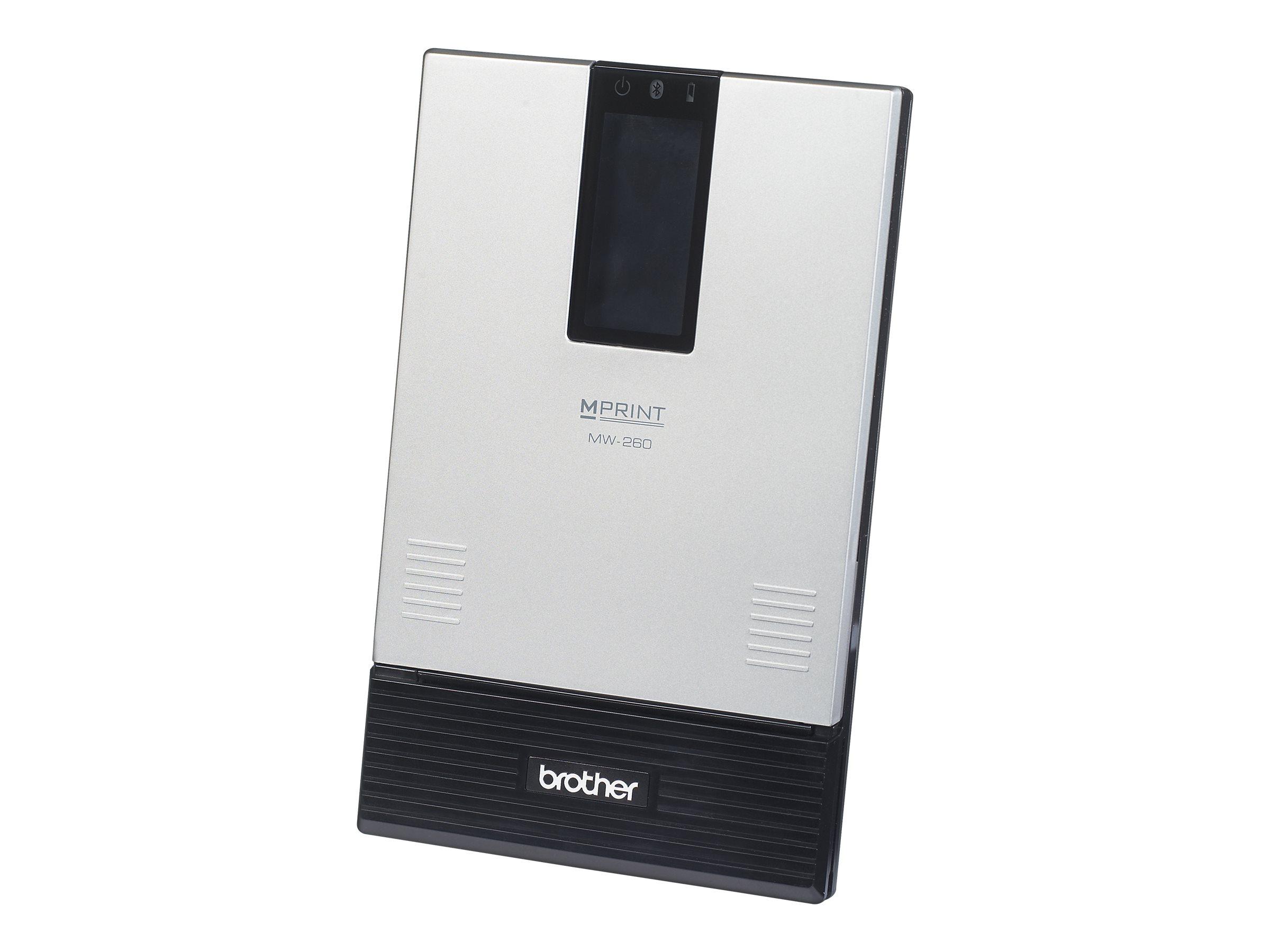 Brother m-PRINT MW-260MFI - printer - B/W - direct thermal