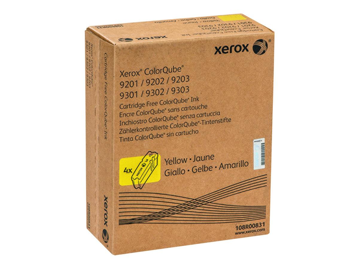 Xerox ColorQube 9201/9202/9203 - 4-pack - yellow - original - solid inks - Sold