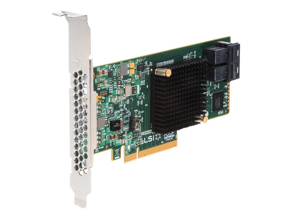 Intel RAID Controller RS3WC080 - storage controller (RAID) - SATA 6Gb/s / SAS 12Gb/s - PCIe 3.0 x8