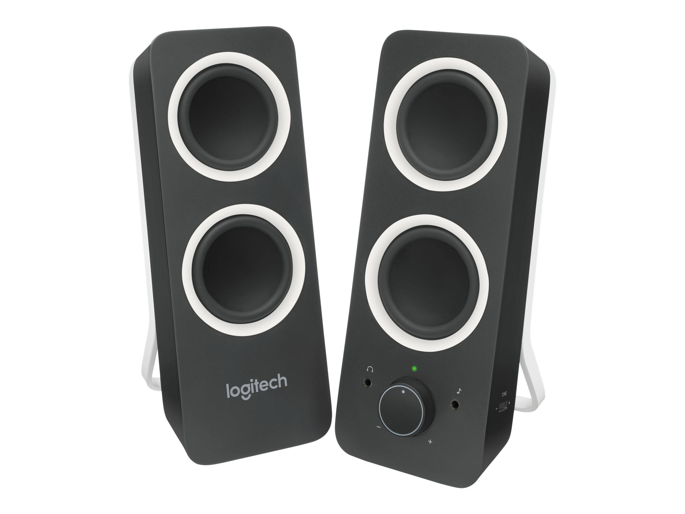 Logitech Z200 Stereo Speakers - speakers - for PC