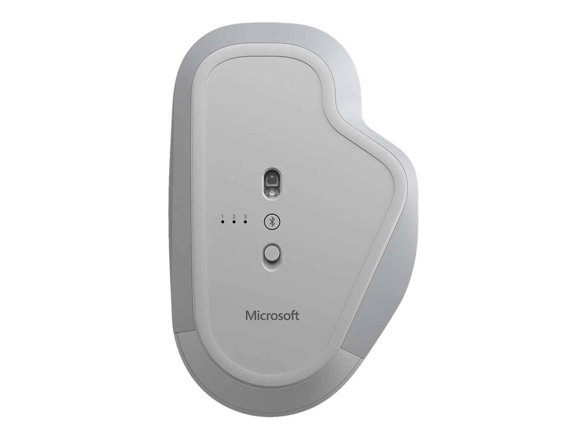 Microsoft Surface Precision Mouse - mouse - USB, Bluetooth 4.0 - light gray