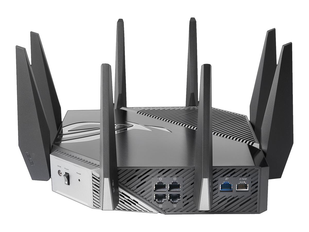 ASUS ROG Rapture GT-AXE11000 - wireless router - 802.11a/b/g/n/ac/ax - desktop