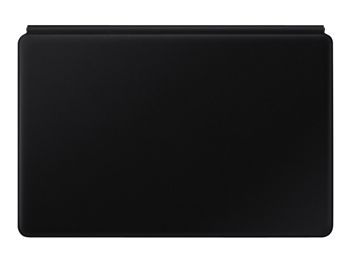 Samsung Book Cover Keyboard EF-DT870 - keyboard and folio case - with touchpad - black