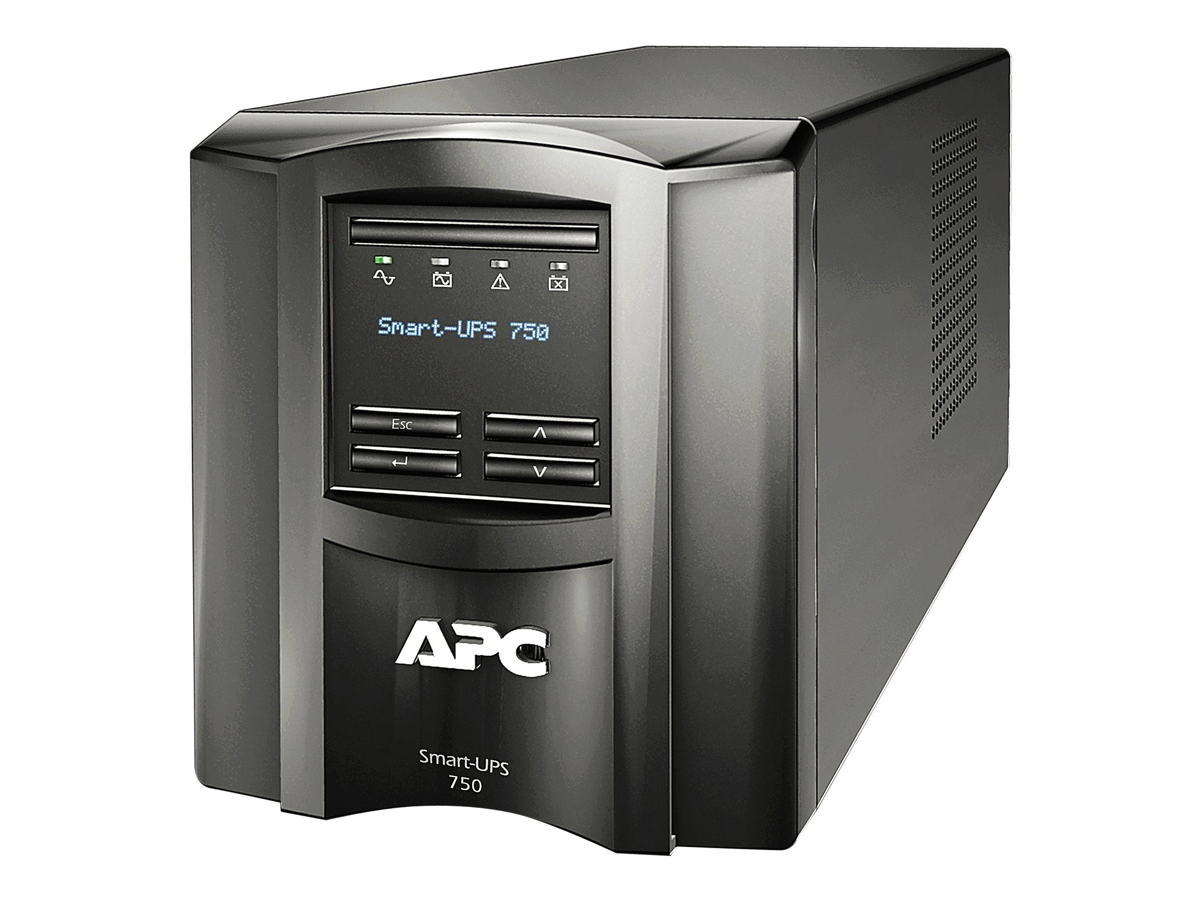 APC Smart-UPS 750 LCD - UPS - 500 Watt - 750 VA - not sold in CO, VT and WA