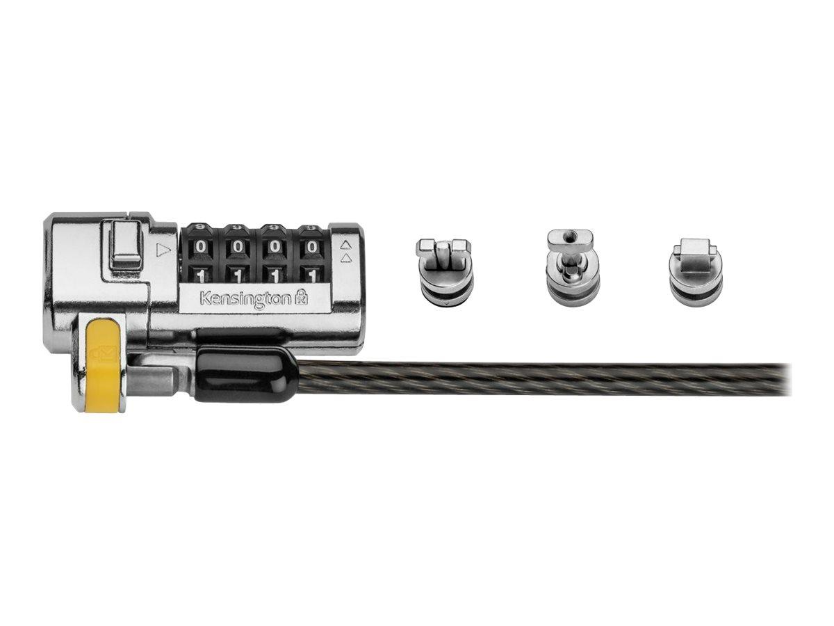 Kensington ClickSafe Universal Combination Laptop Lock - Master Coded security cable lock