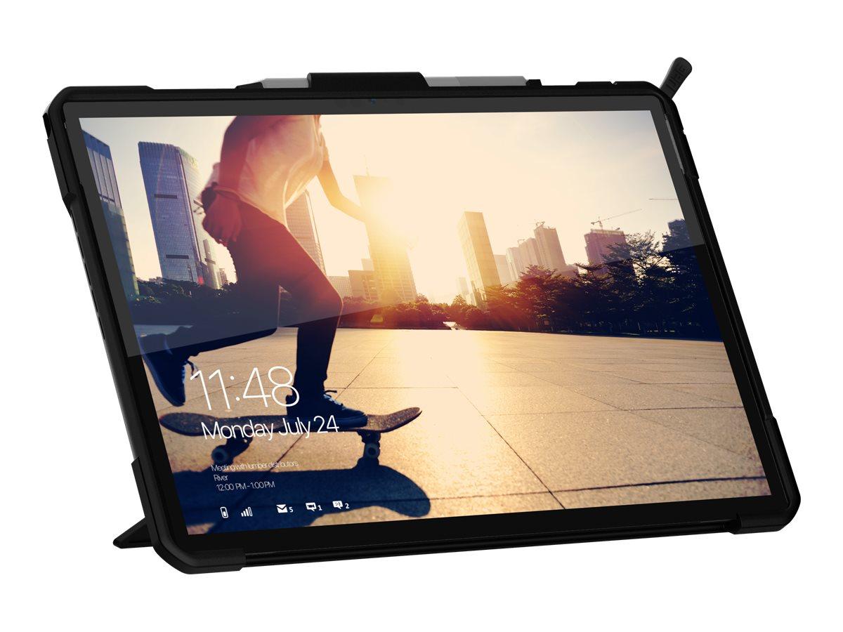 UAG Rugged Case for Microsoft Surface Pro 7+/7/6/5/LTE/4 - Metropolis SE Black - back cover for tablet