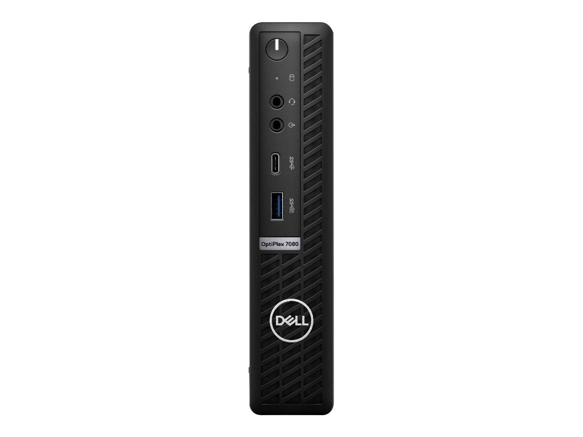 Dell OptiPlex 7080 - micro - Core i5 10500T 2.3 GHz - vPro - 8 GB - SSD 256 GB