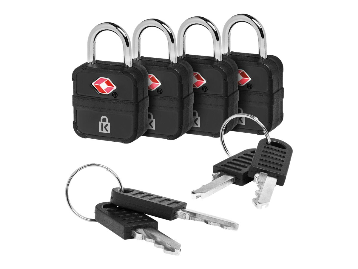 Kensington TSA Accepted Keyed Luggage Lock security lock