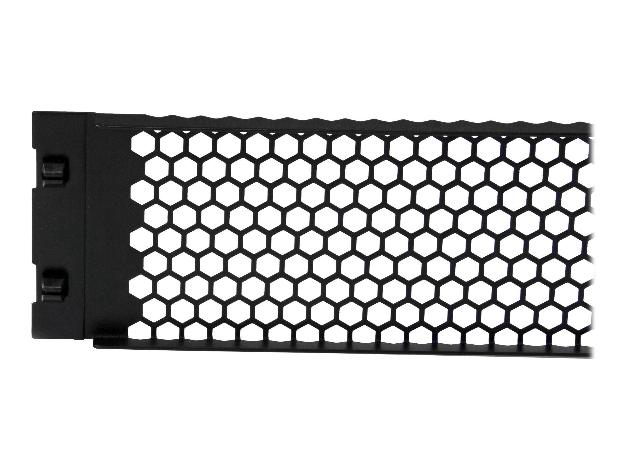 StarTech.com 2U Tool-Less Vented Blank Rack Panel blank panel - 2U