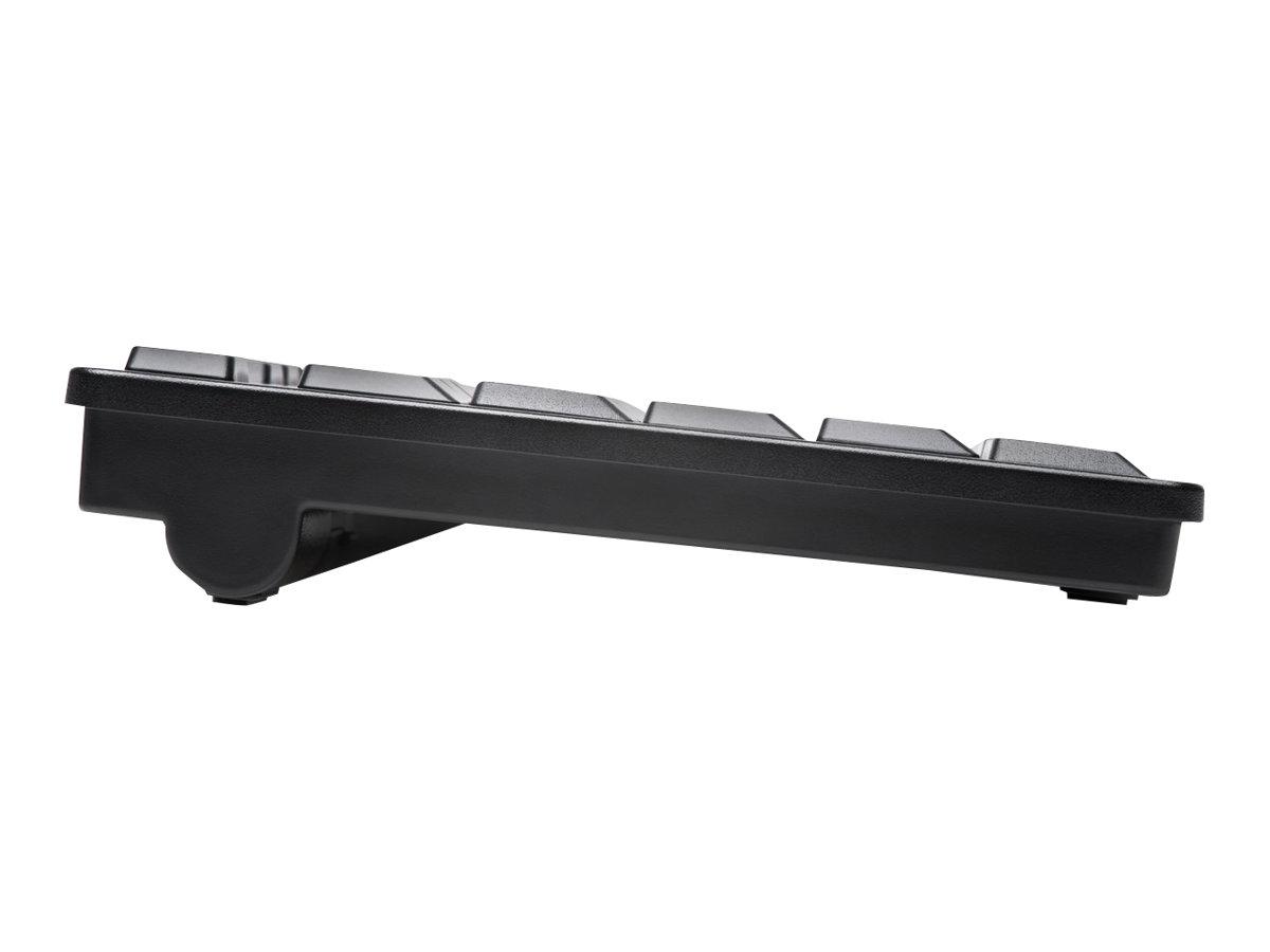 Kensington Pro Fit Low-Profile Desktop Set - keyboard and mouse set - black