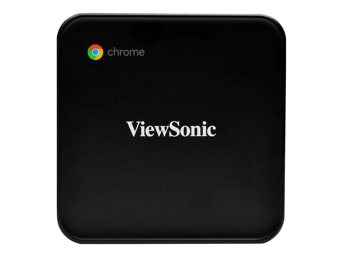 ViewSonic NMP660 Chromebox - mini PC - Celeron 3867U 1.8 GHz - 4 GB - SSD 128 GB