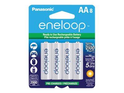 Panasonic eneloop BK-3MCCA8BA battery - 8 x AA type - NiMH