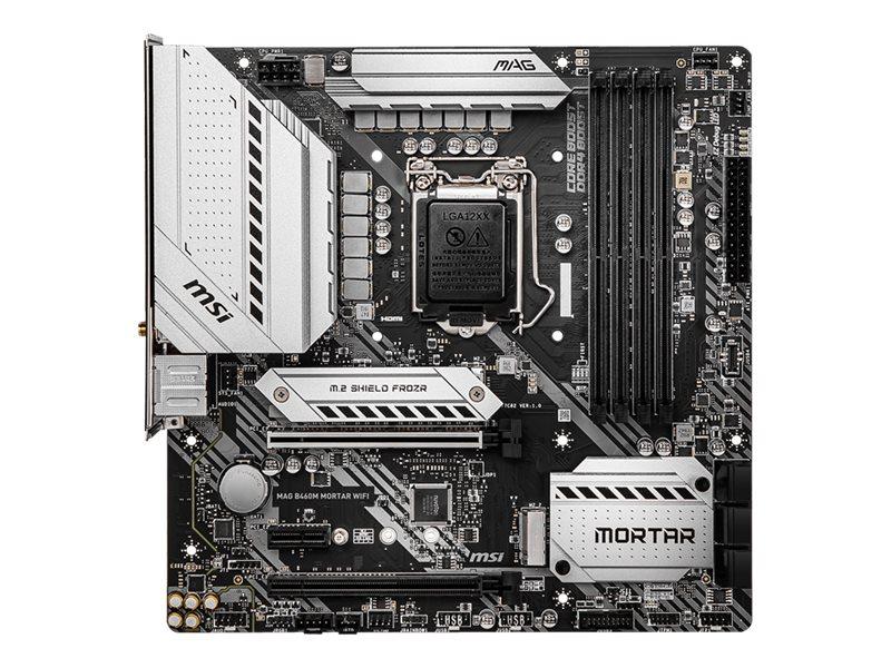 MSI MAG B460M MORTAR WIFI - motherboard - micro ATX - LGA1200 Socket - B460
