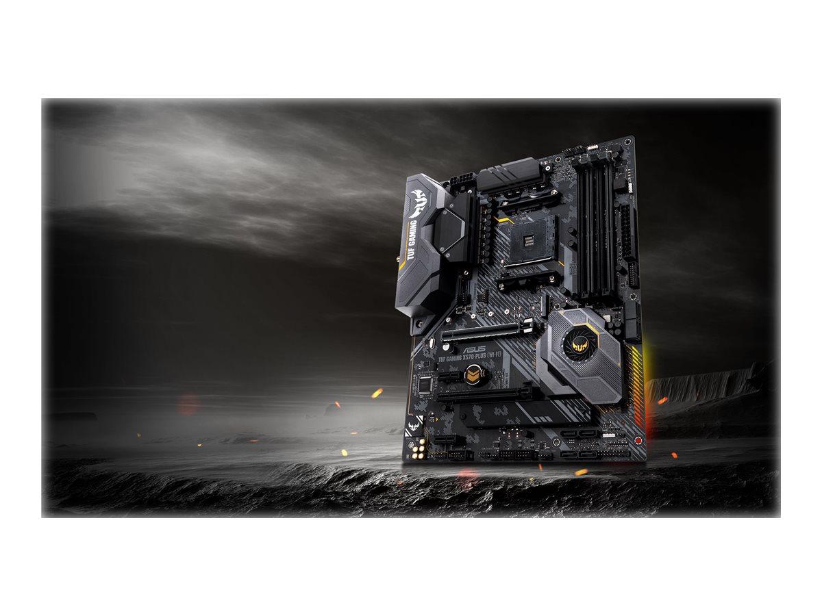 ASUS TUF GAMING X570-PLUS (WI-FI) - motherboard - ATX - Socket AM4 - AMD X570