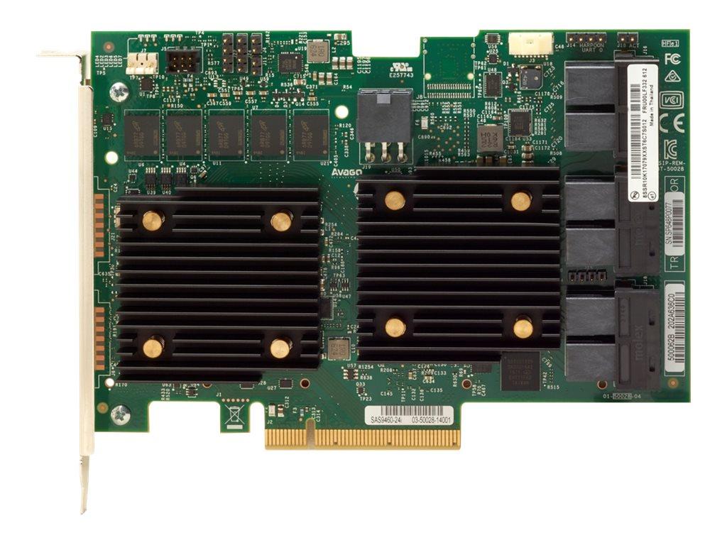 Lenovo ThinkSystem 930-24i - storage controller (RAID) - SATA / SAS 12Gb/s - PCIe 3.0 x8
