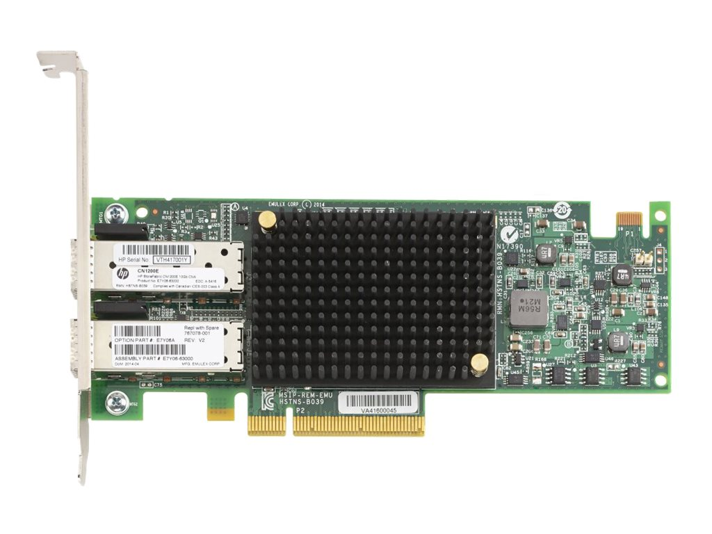 HPE StoreFabric CN1200E - network adapter - PCIe - 10Gb CEE x 2