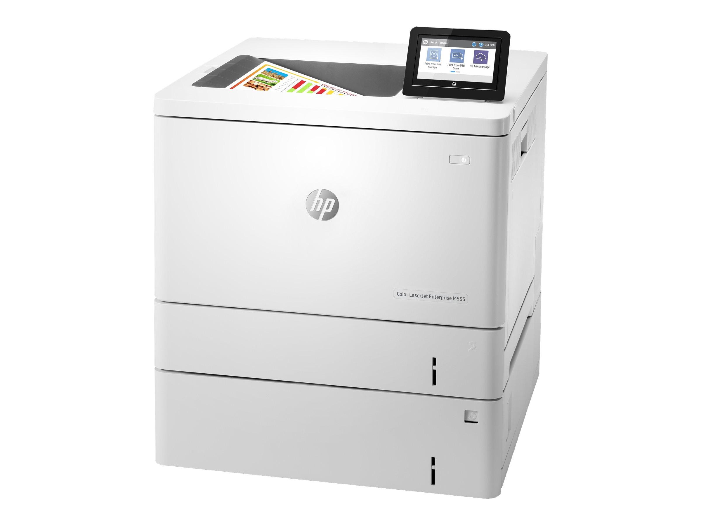 HP Color LaserJet Enterprise M555x - printer - col...