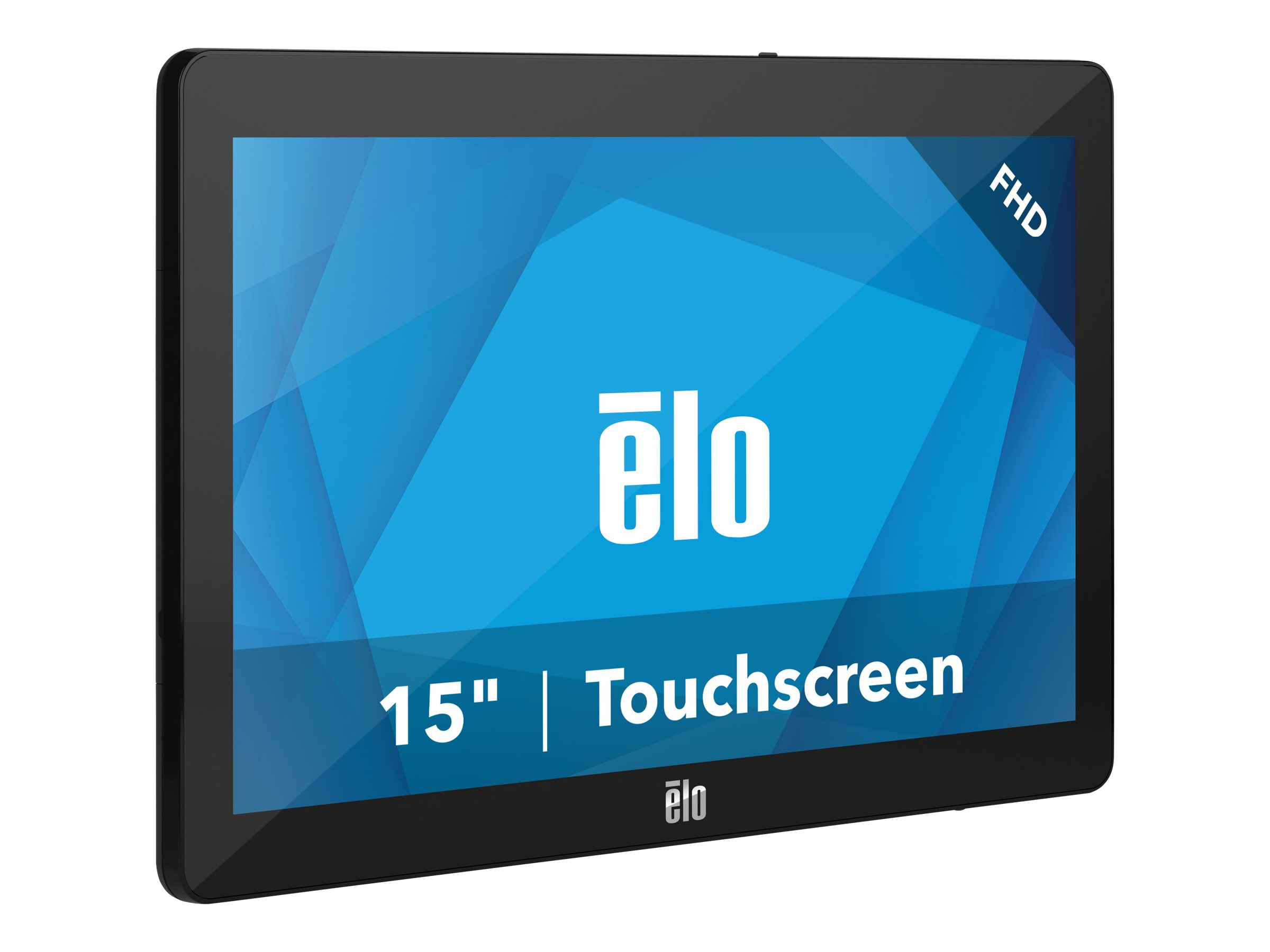 EloPOS System - with Wall Mount I/O Hub - all-in-one - Core i5 8500T 2.1 GHz - 8 GB - SSD 128 GB - LED 15.6
