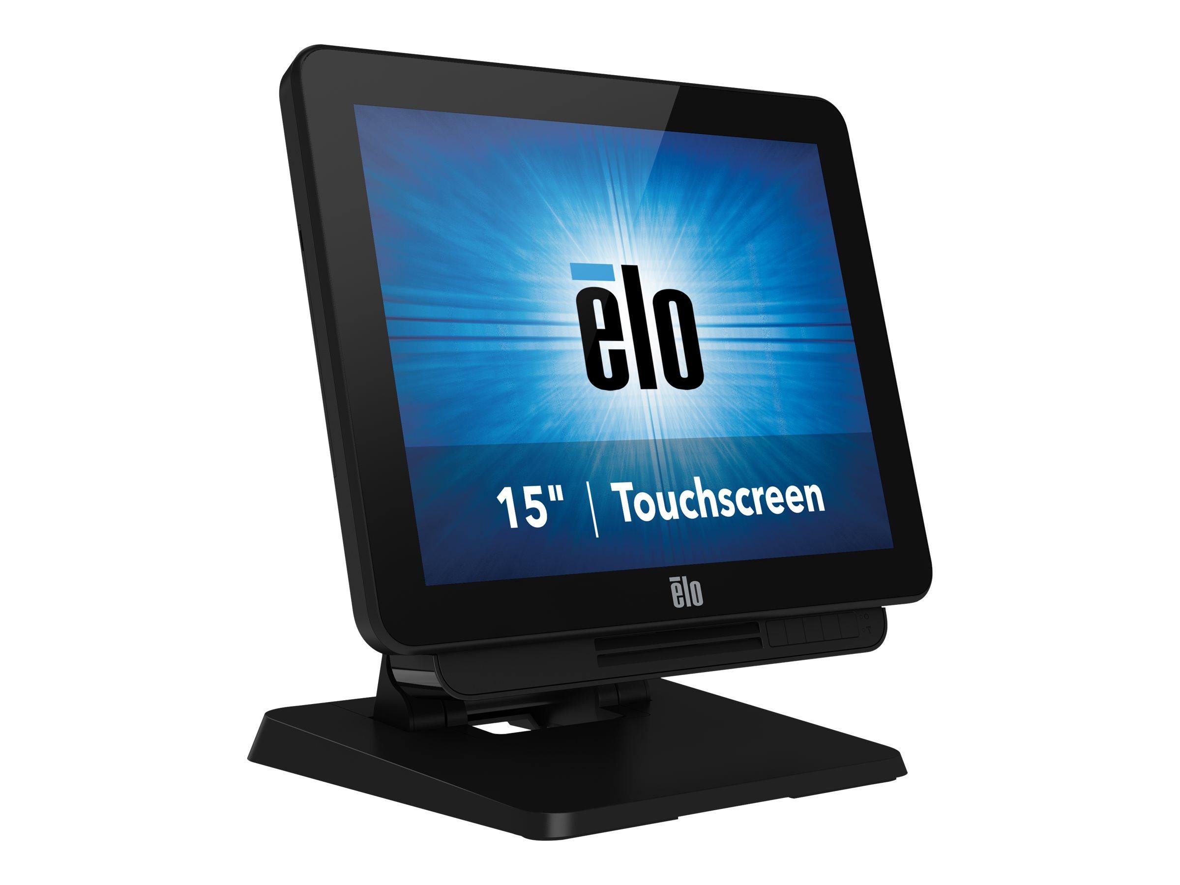 Elo X-Series Touchcomputer ESY15X2 - all-in-one - Celeron N3450 - 4 GB - SSD 128 GB - LED 15