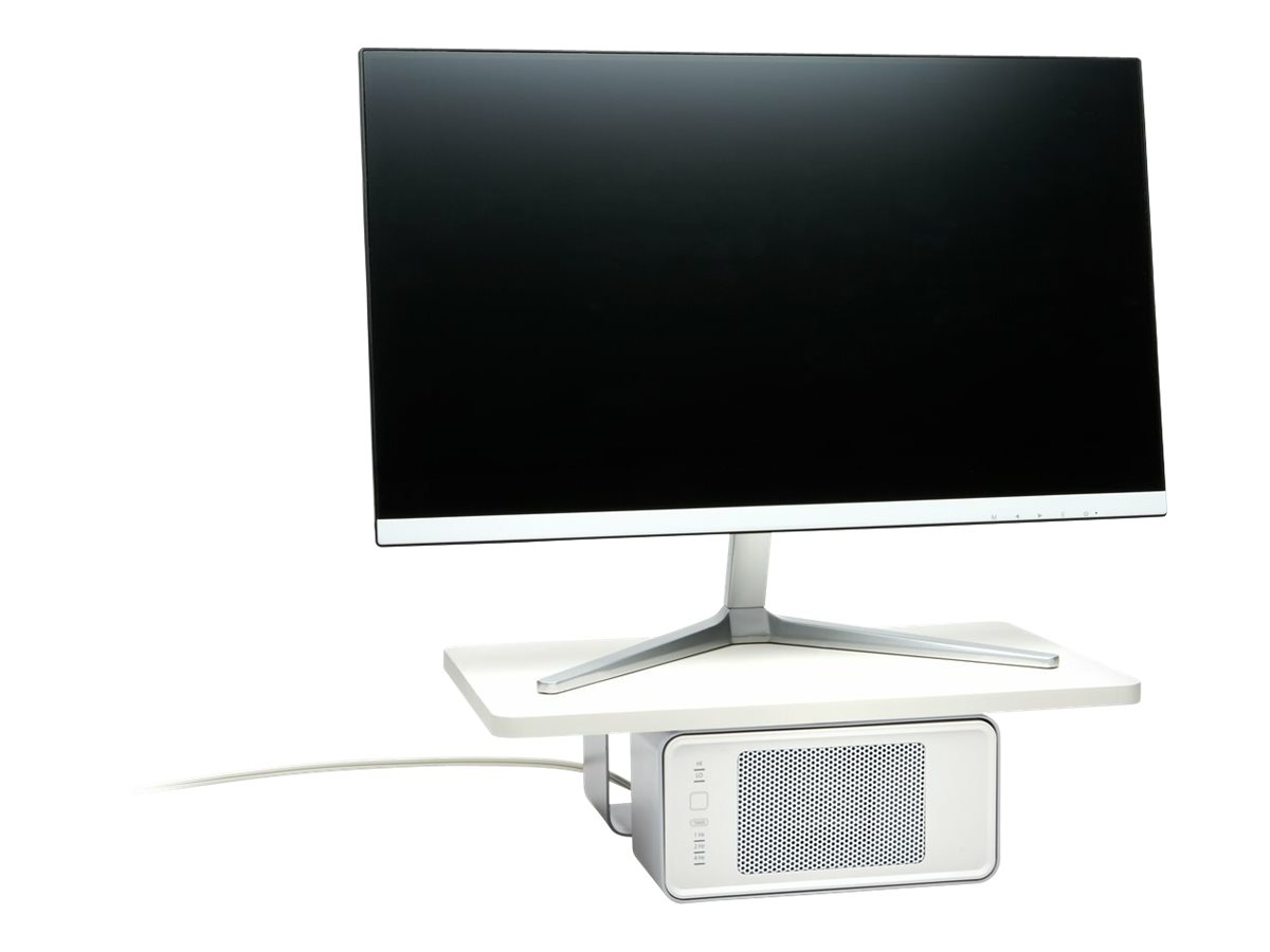 Kensington WarmView Wellness Monitor Stand with Ceramic Heater - monitor stand - 27