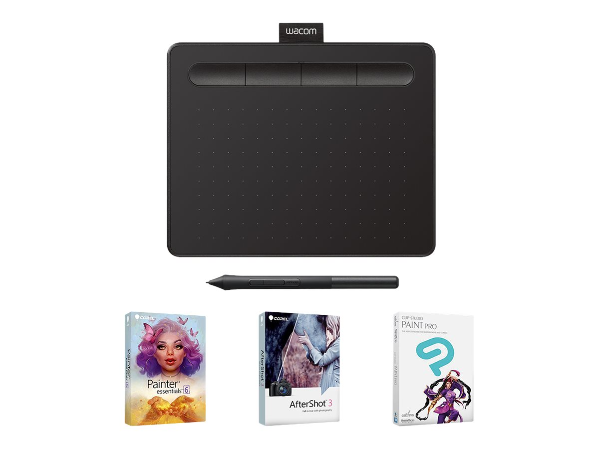 Wacom Intuos Creative Pen Small - digitizer - USB - black