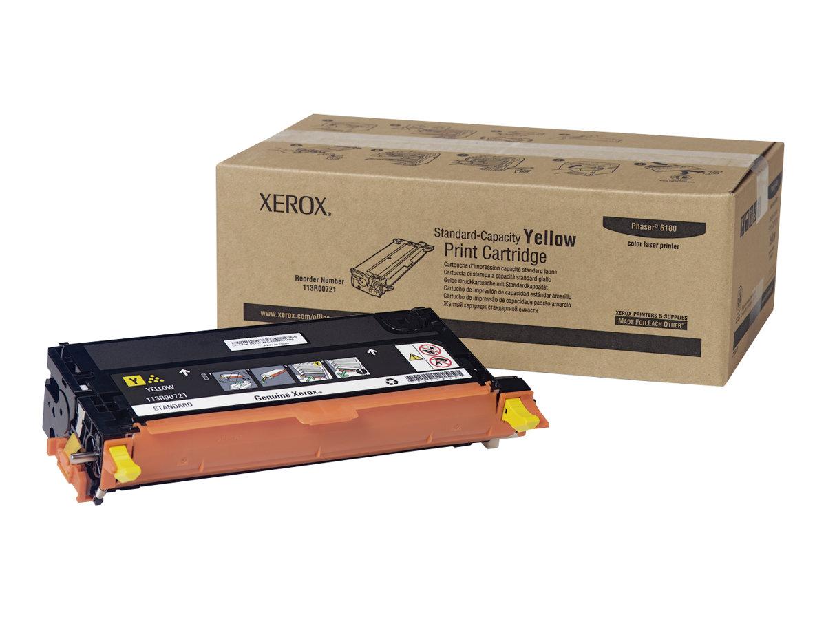 Xerox Phaser 6180MFP - yellow - original - toner cartridge
