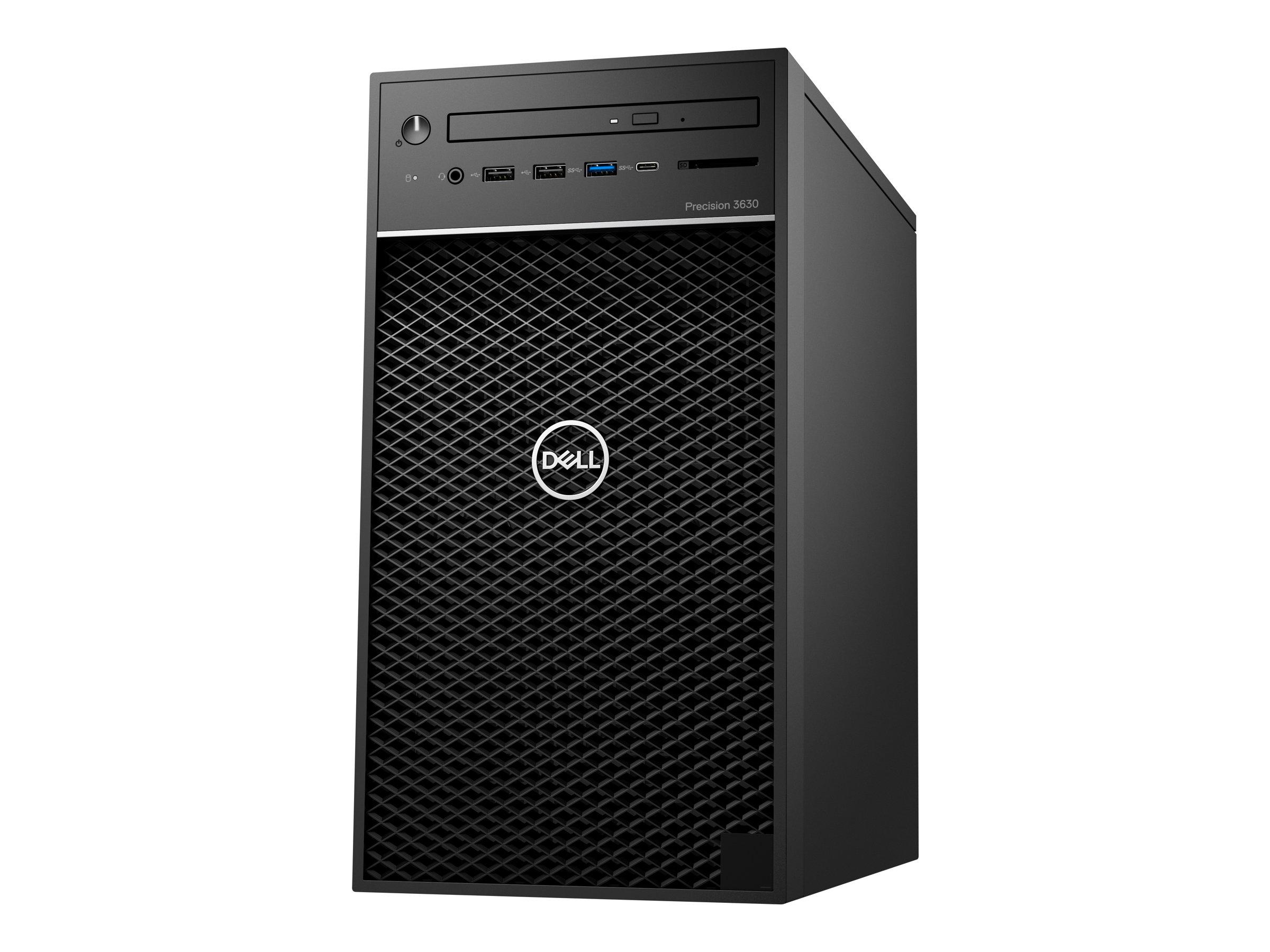Dell Precision 3630 Tower - MT - Core i7 9700 3 GHz - vPro - 16 GB - SSD 512 GB