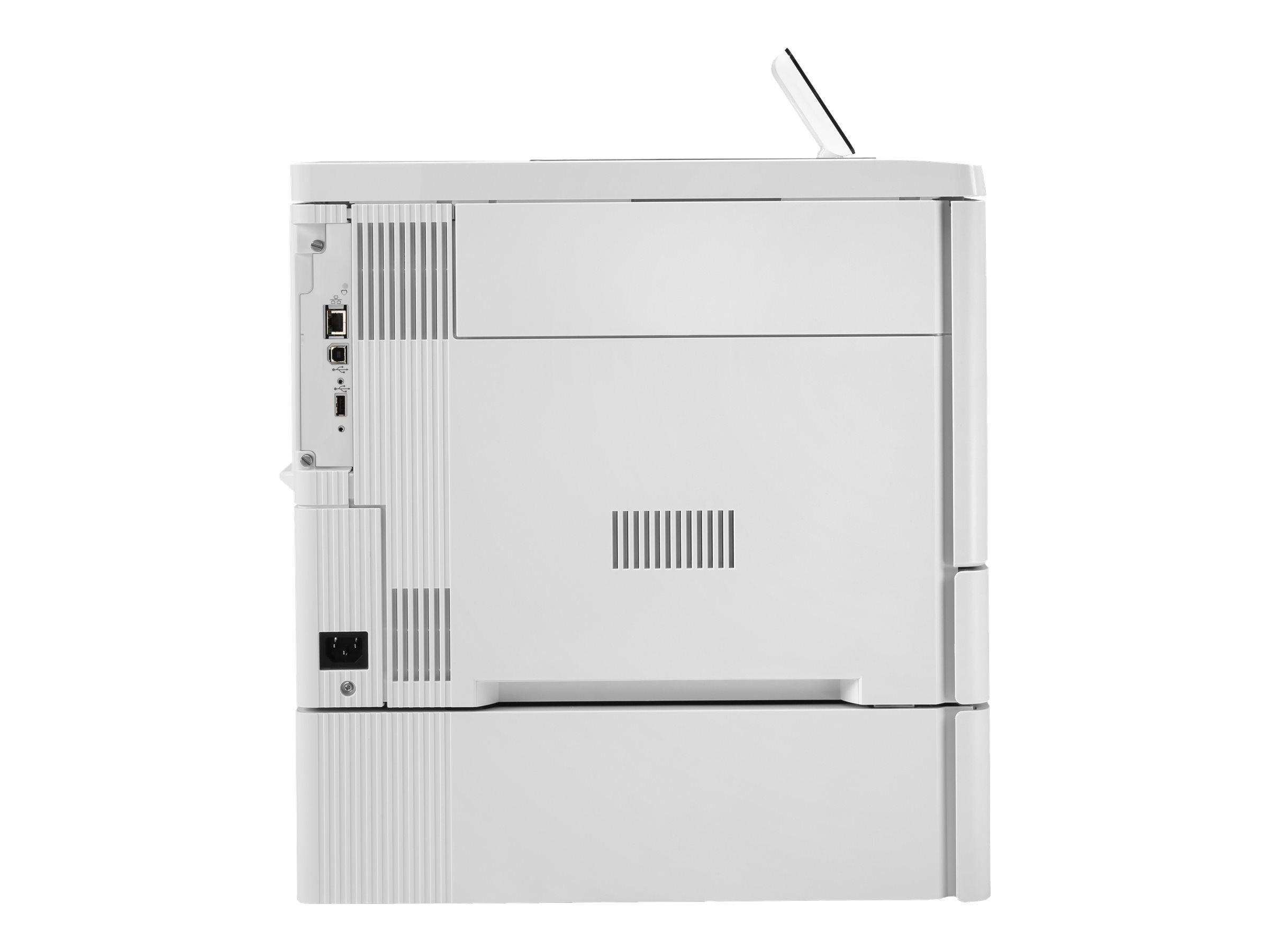 HP Color LaserJet Enterprise M555x - printer - color - laser
