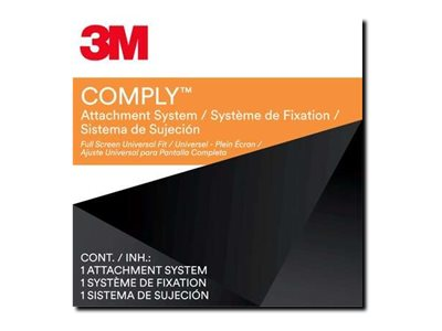3M Comply Attachment Set - Full Screen Universal notebook privacy filter