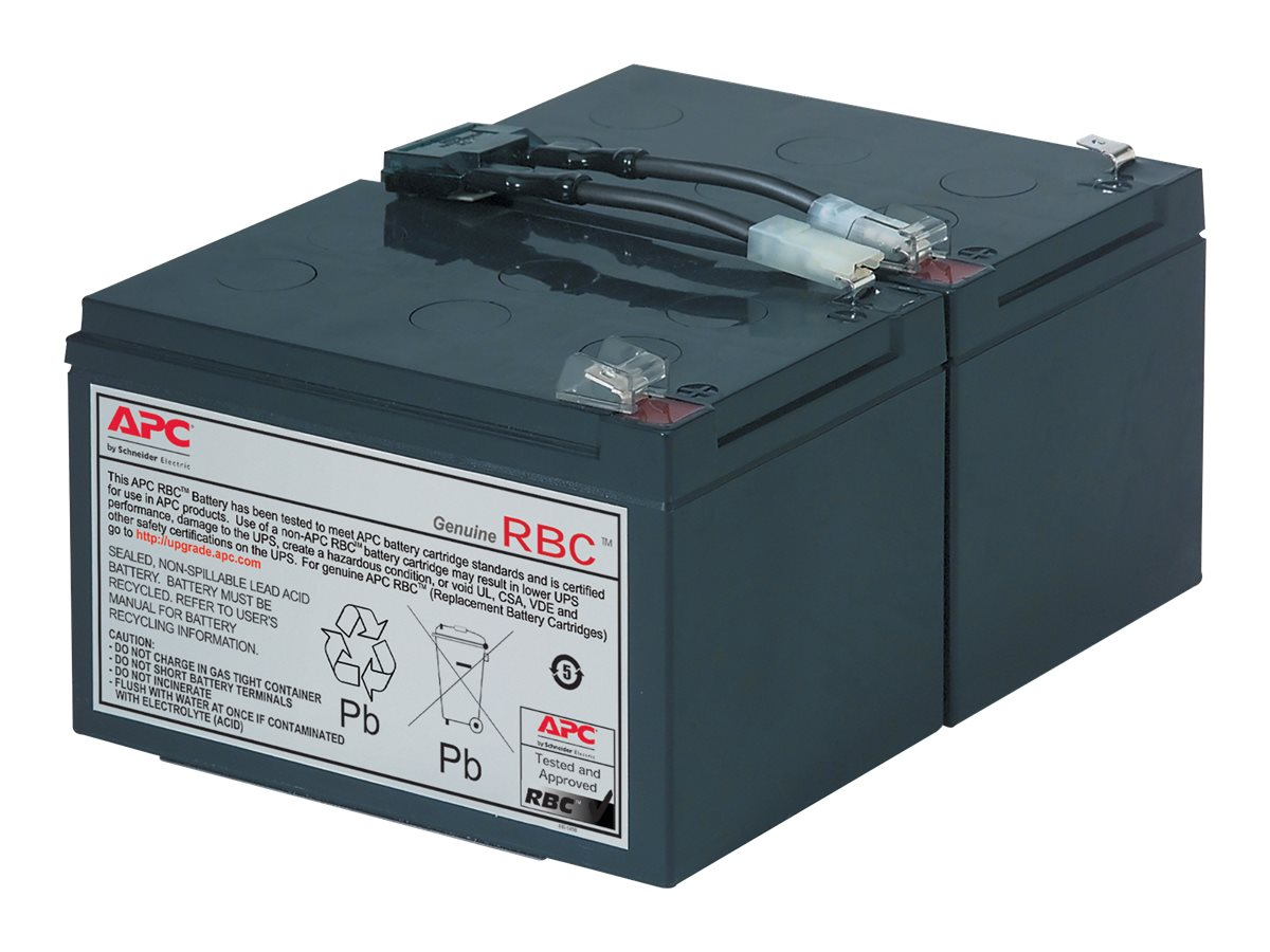 APC Replacement Battery Cartridge #6 - UPS battery - lead acid