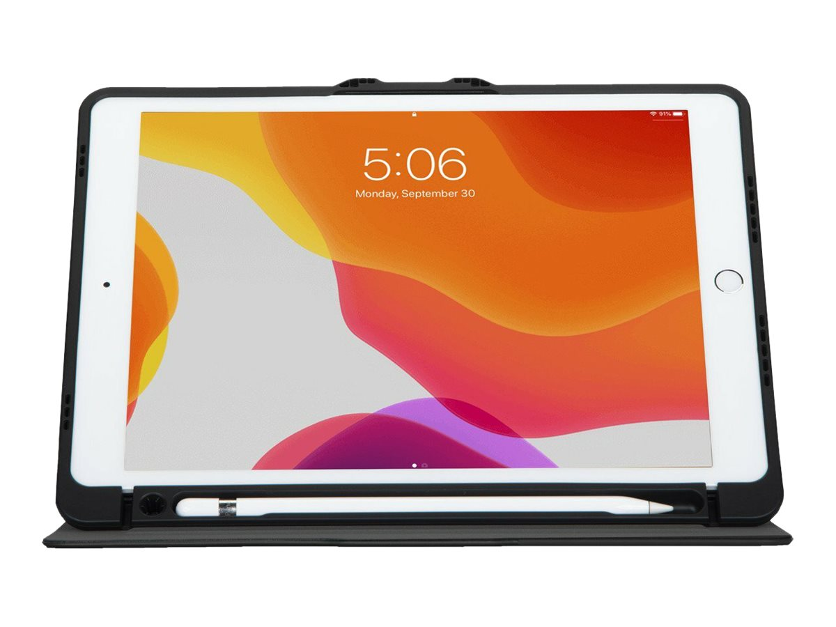 Targus VersaVu Antimicrobial Slim Case - flip cover for tablet