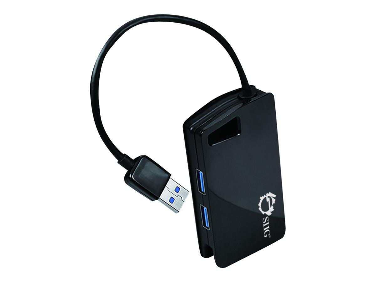 SIIG SuperSpeed USB 3.0 4-Port Hub - hub - 4 ports