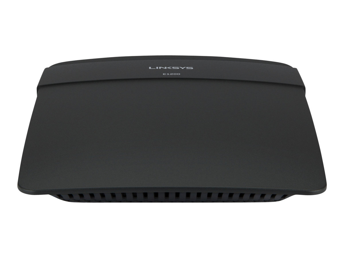 Linksys E1200 - wireless router - 802.11b/g/n - desktop