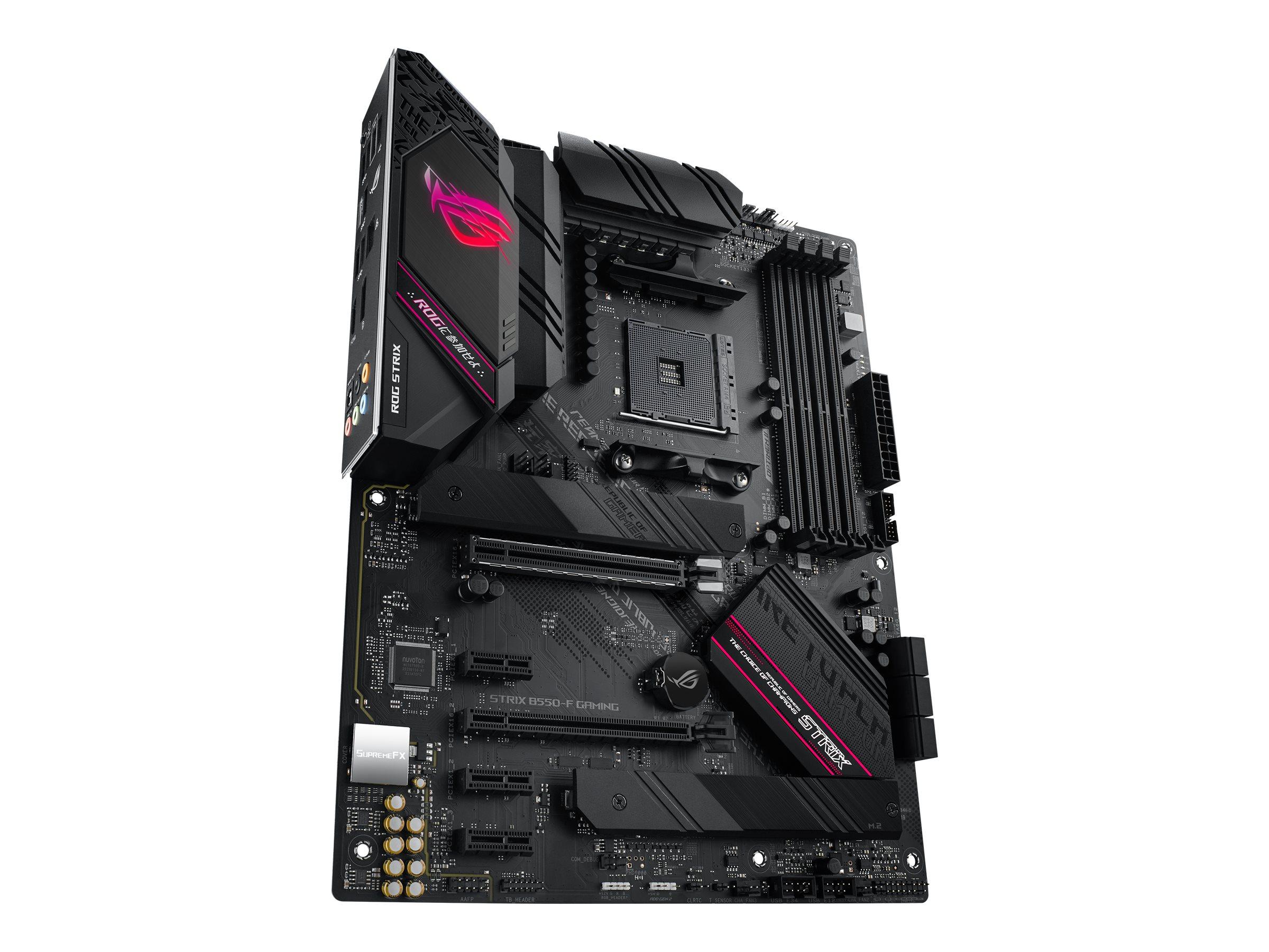 ASUS ROG STRIX B550-F GAMING - motherboard - ATX - Socket AM4 - AMD B550
