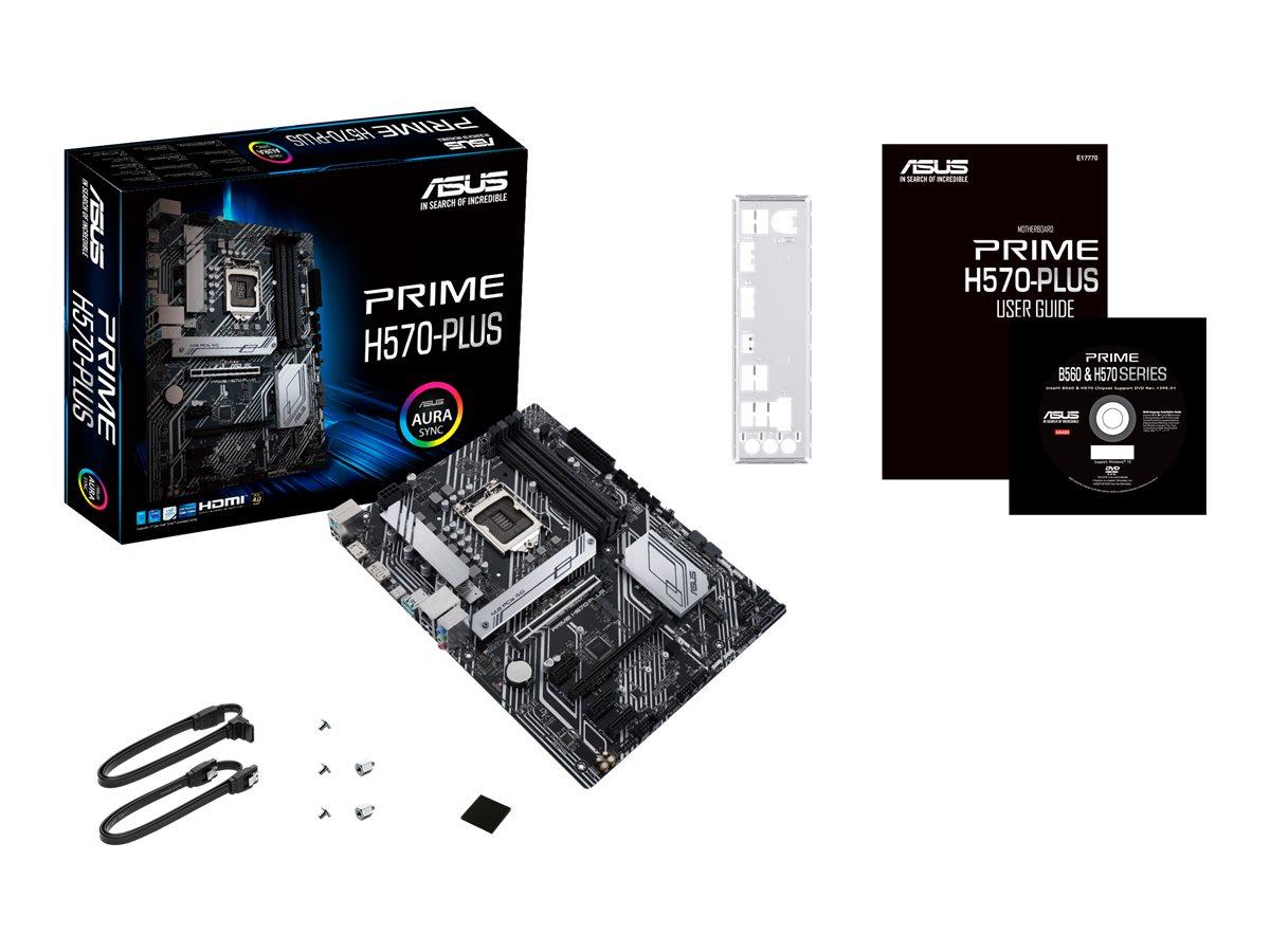 ASUS PRIME H570-PLUS - motherboard - ATX - LGA1200 Socket - H570