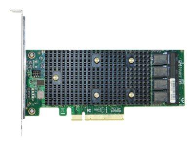 Intel RAID Controller RSP3QD160J - storage controller (RAID) - SATA 6Gb/s / SAS 12Gb/s / PCIe - PCIe 3.0 x8