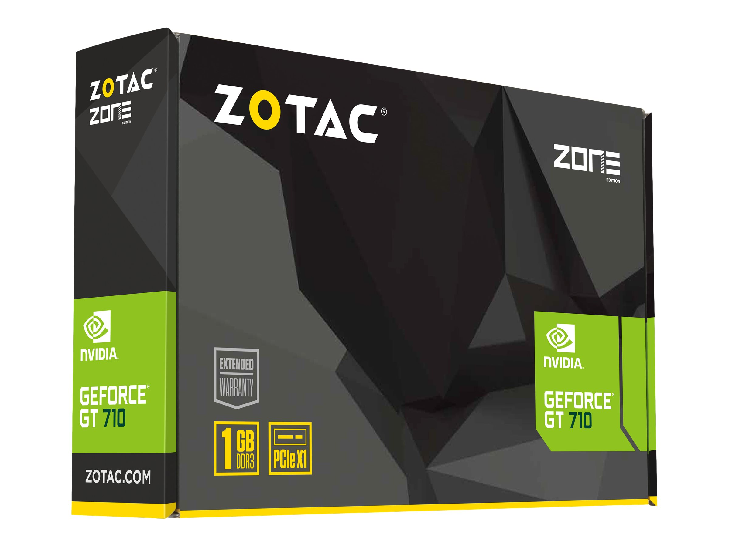 ZOTAC GeForce GT 710 - ZONE Edition - graphics card - GF GT 710 - 1 GB