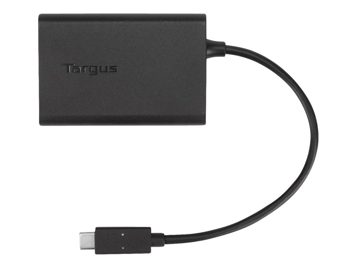Targus USB-C Multiplexer Adapter - USB-C adapter