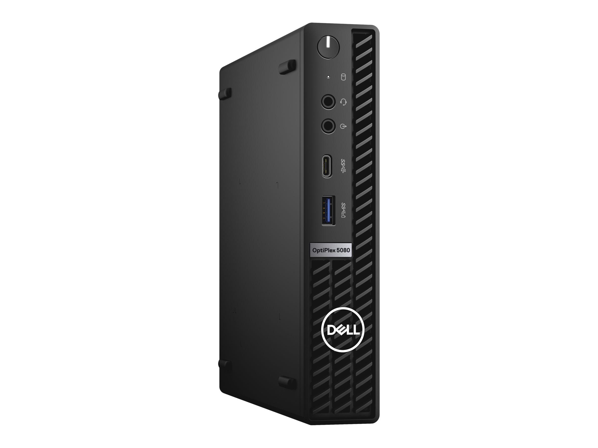 Dell OptiPlex 5080 - micro - Core i5 10500T 2.3 GHz - 8 GB - SSD 256 GB