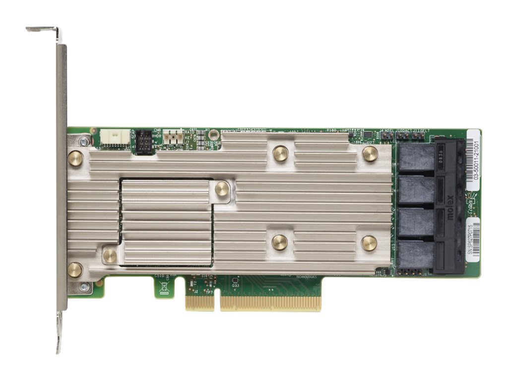Lenovo ThinkSystem 930-16i - storage controller (RAID) - SATA / SAS 12Gb/s - PCIe 3.0 x8
