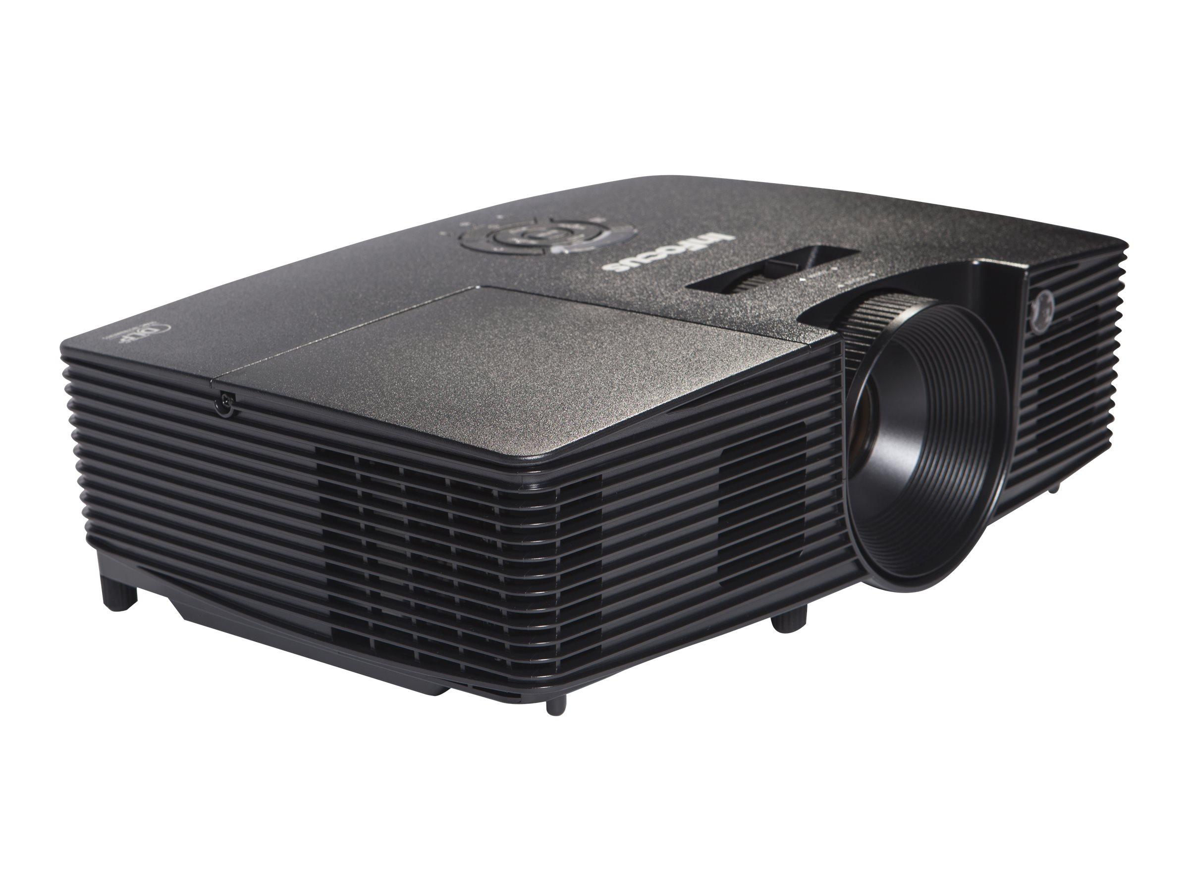 InFocus IN112xa - DLP projector - zoom lens - portable - 3D