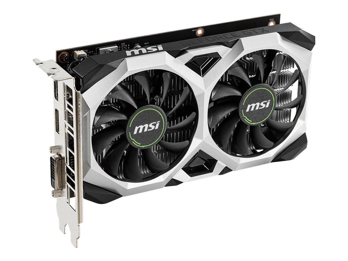 MSI GTX 1650 D6 VENTUS XS OC - graphics card - GF GTX 1650 - 4 GB