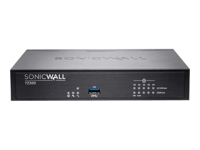 SonicWall TZ300P - security appliance - Secure Upgrade Plus