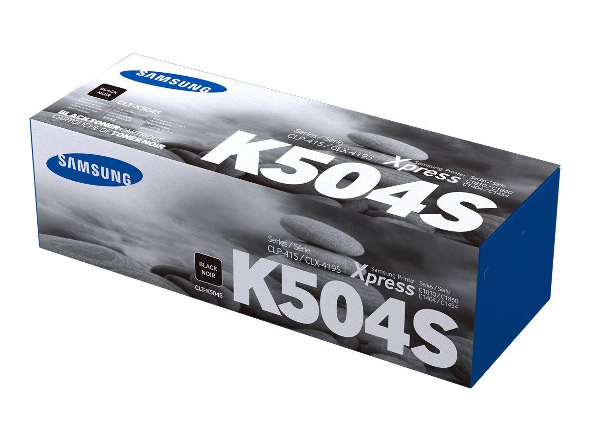 Samsung CLT-K504S - black - original - toner cartridge (SU162A)